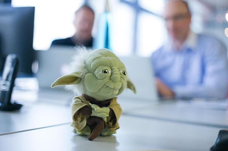 Yoda: may the force be with us