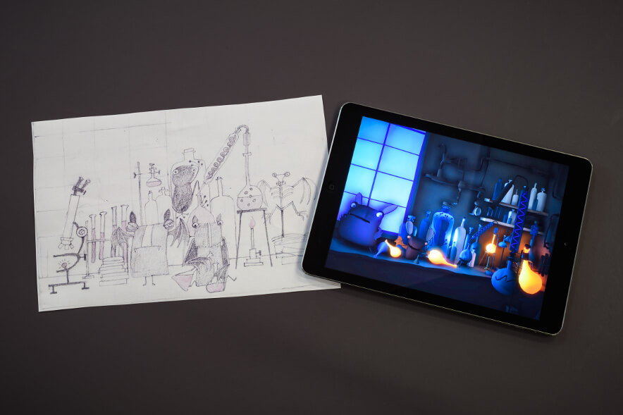 The Batz app: From a drawing to the product