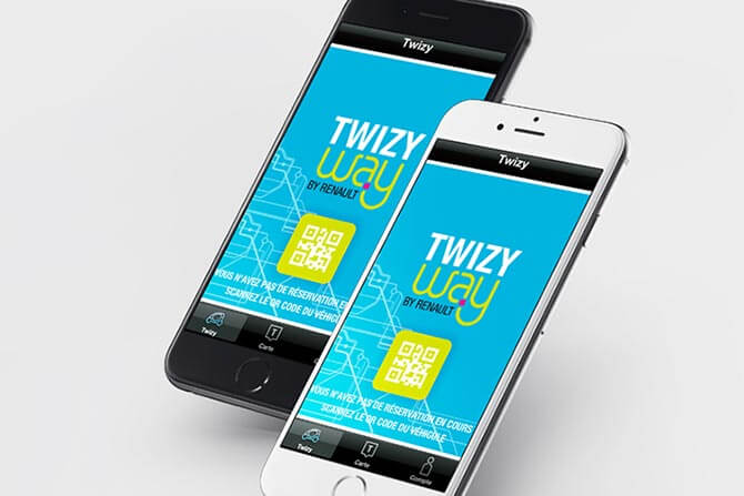 Application TwizyWay