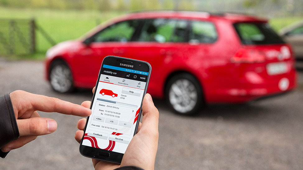 Mobility: Get your car with the app